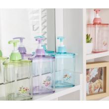 Bouteille de shampoing en plastique avec pompe pour hôtel