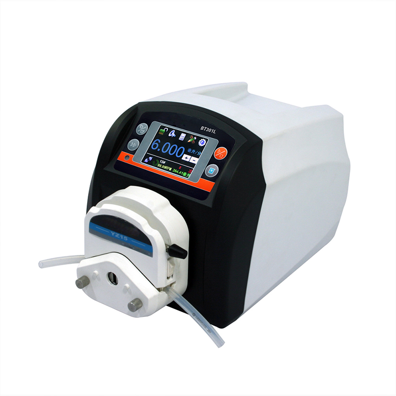 Intelligent flow peristaltic pump