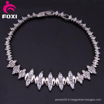 Bracelet en zircon plaqué or New Design Fine Jewelry