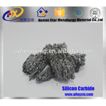 Deoxidizer Black Silicon Carbide for Cast Iron / Steel Making