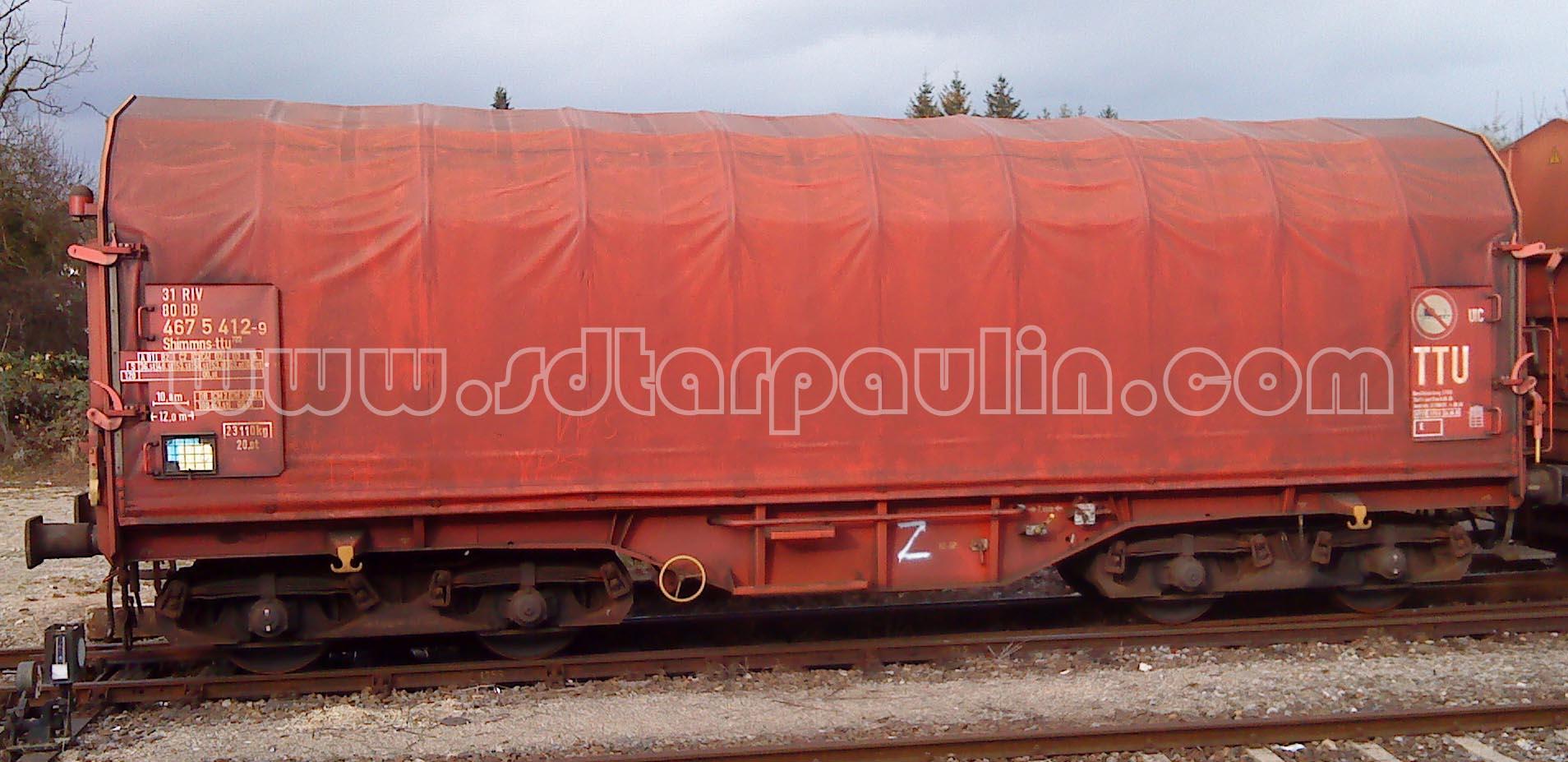 Railway Wagon Tarp