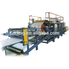 pu sandwich foam rolling machine/pu sandwich panel making machine/pu sandwich production line