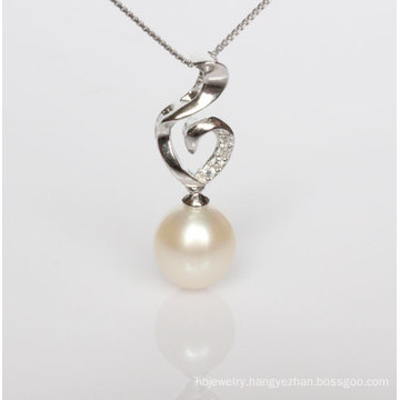 925 Sterling Silver Fashion Freshwater Pearl Pendant Wholesale