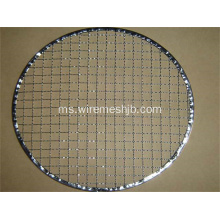 280mm Round Galvanized BBQ Grill Netting