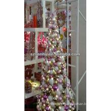 Hand made color LED Christmas plastic ball tree