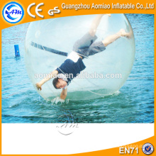 Transparent inflatable water walking ball/walk on water ball for kids and adults/German zips of water fountain glass ball