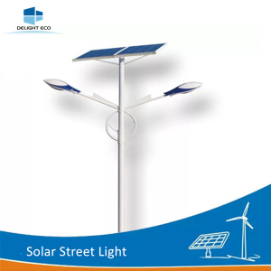DELIGHT Decorative Parking Lot Solar Street Lights