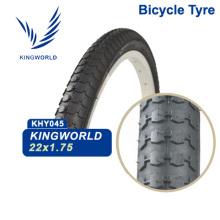 22x1.75 de pneu de bicicleta preto chinês