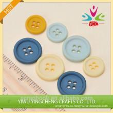 Botón plástico de la ropa de bricolaje decoración