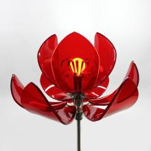 Custom Acrylic Display Stand Acrylic LED Crafts Flowers