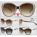 2016 nuevas gafas de sol de moda de la protección UV400 para las señoras (WSP601537)