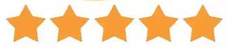 Five Stars Feedbacks