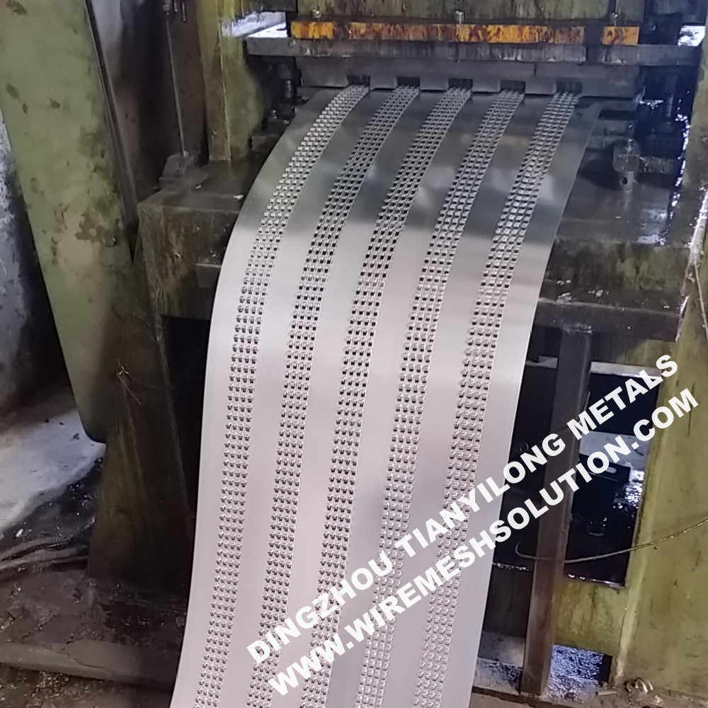 High Ribbed Formwork Galvanized Expanded Metal Rib Lath