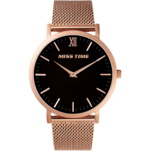 mens trend design movement rose gold quartz watch