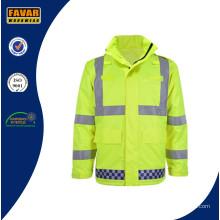 Hi-Vis étanche Traffic Police Jacket
