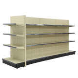 New! Supermarket Gondola Metal Shelf