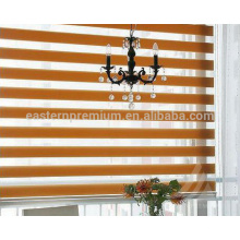 made to measure two layers window decoration zebra blinds