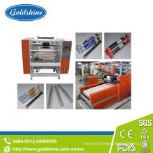 Rolo de folha de alumínio semiautomática Top faz a máquina