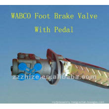 WABCO Foot Brake Valve With Pedal for Yutong, Kinglong / bus spare parts