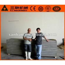 2015 nuevos productos eps panel de pared de cemento que hace la máquina en la India