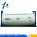 high quality r407c refrigerant gas