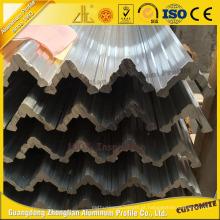 Liga de alumínio do grande ângulo 6000series para a decoração da arquitetura