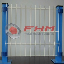 PVC 3D Folding Curvy Welded Wire Mesh Pagar