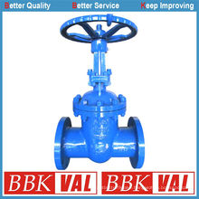 High Pressure Gate Valve Carbon Steel DIN3352 F5 F7 Gearbox Operated