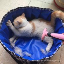 Tragbare Badebadewanne im Freien für kleinen Haustier-Swimmingpool