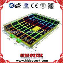 Lit d'intérieur de saut de saut à l'élastique de fabricant de la Chine pour le parc d'attractions