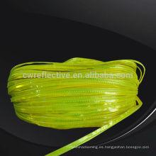 en471 high light glow en la tira reflectante oscura de PVC para bolsas