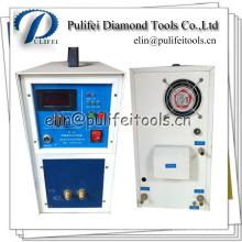 Soldadora de alta frecuencia de la calefacción para la soldadura de la soldadura de la lámina del diamante