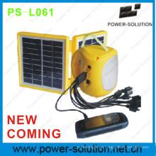 Neue kommen 2W chinesische Solar Laterne mit schneller Solar-Ladegerät