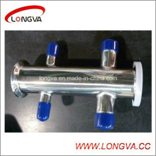 Sanitary Tri-Clamp Stainless Steel Manifold Fitting