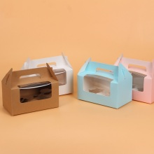 2 st papper cupcake box grossist