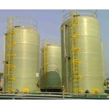 Tanque de almacenamiento industrial de fibra de vidrio frp grp HNO3