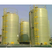 Tanque de armazenamento industrial de fibra de vidro frp grp HNO3