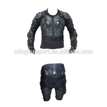 High quality motorcycle body armor motocross leather jacket adults racing suit for sale