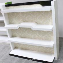Exposición exhibición estante de madera estante tienda Display Rack supermercado estante de la góndola (BDS-016)