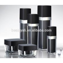 15ML 20ML 30ML 50ML 100ML 120ML 125ML Square Cosmetics Packaging PMMA Bottle