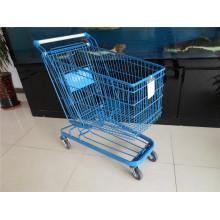 Neuer Supermarkt Einkaufswagen