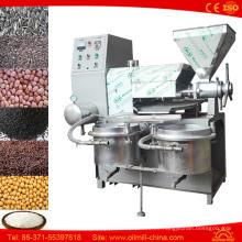 Prensa de aceite de sésamo de cacahuete automático Prensa de cacahuete de cacahuete Mini