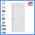 White Prime Moulded HDF MDF Interior Wooden Door