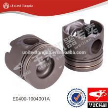 Piston de moteur YC4E d'origine E0400-1004001A pour yuchai