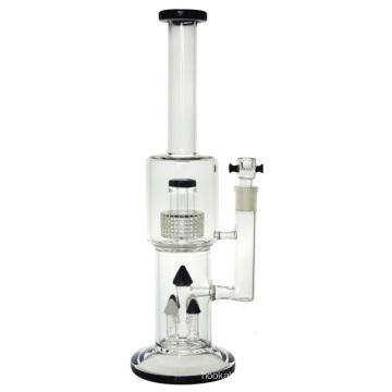 4 cabezal de ducha de vidrio per vidrio tubo de agua para fumar (ES-GB-434)