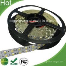 High Lumen 2 linhas 126 LED Stripe 5050 24V LED Double Row Fita LED