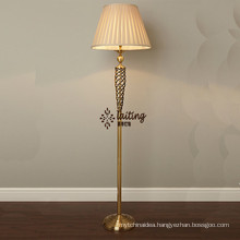 Modern Beside Chandelier Brass Floor Lamp for Hotel