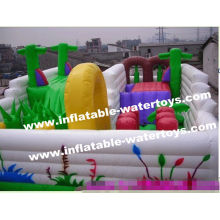 Hot Sale Inflatable Amusement Park, Best Sale Inflatable Funland For Commercial Use