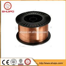Er70s-6 alambre de soldadura con cobre mig wire