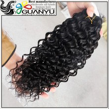High quality 100% remy human hair deep wave brazilian hair extension chinese hair accessories